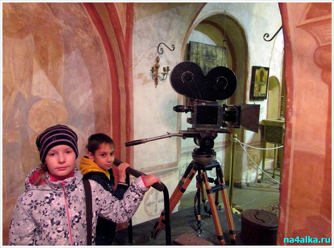 Как снимали фильмы на пленку
