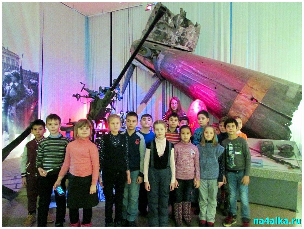 Экскурсия в Центральный музей Вооруженных сил России
