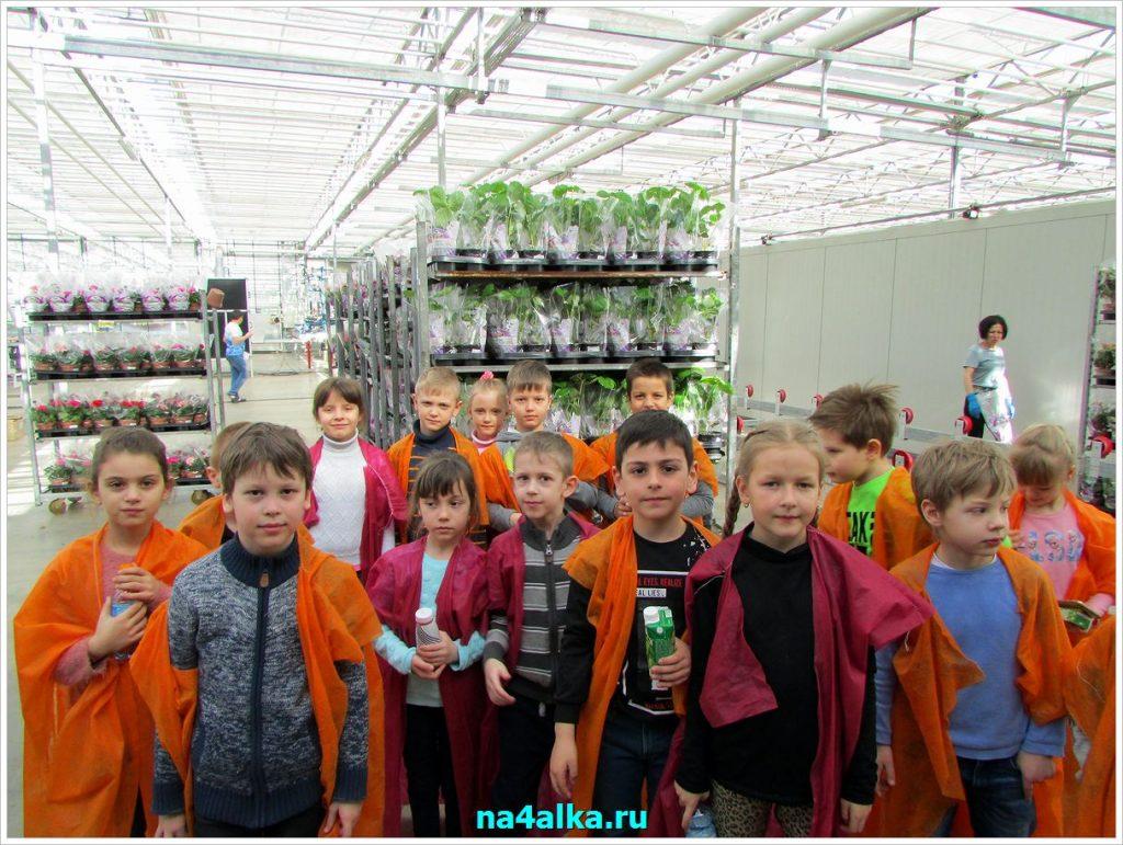 Посещение Агрохолдинга «Московский»